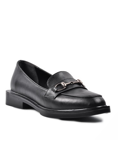 Esstii 8905 Haki Süet Kadın Günlük Ayakkabı Siyah